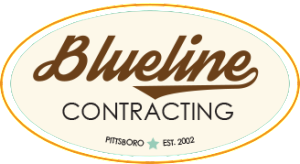 Blueline Contracting Logo